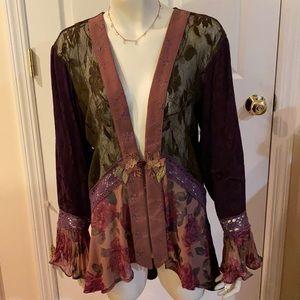 Vintage Stunning Spencer Alexis High Low Kimono
